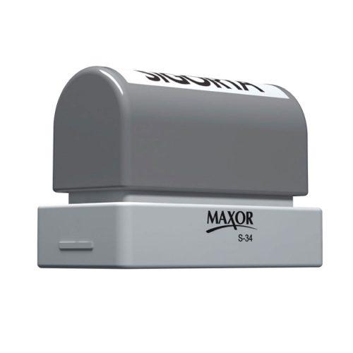 Maxor S34 Flash Kaşe