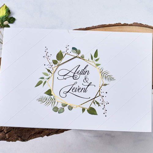 Kır Düğün Davetiyesi EB1115