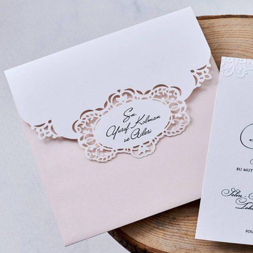 Lüks Düğün Davetiyesi EB1118