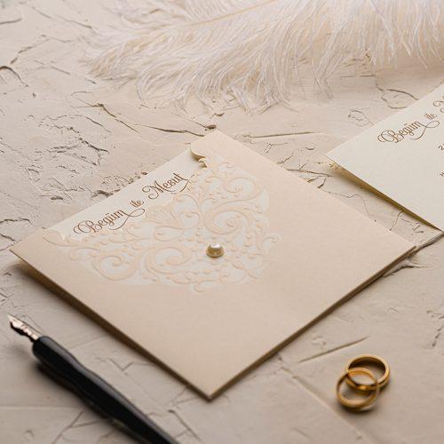 İncili Düğün Davetiyesi EKO9123