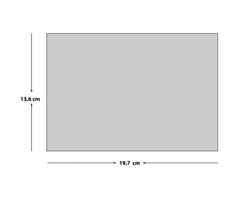 Geometrik Kabartmalı Düğün Davetiyesi EKO9136