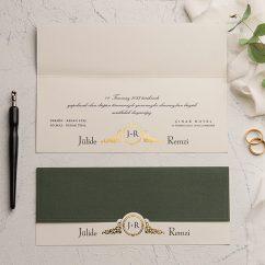 Modern Düğün Davetiyesi EKO9146