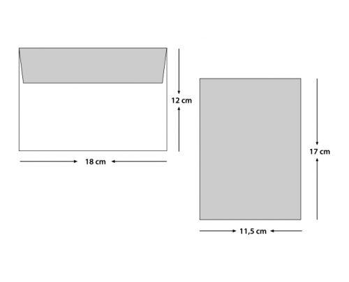 Geometrik Ucuz Düğün Davetiyesi EKO9202