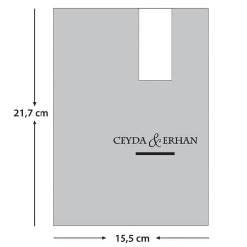 Özel Zarflı Şık Tasarım Püsküllü Davetiye ERD50571